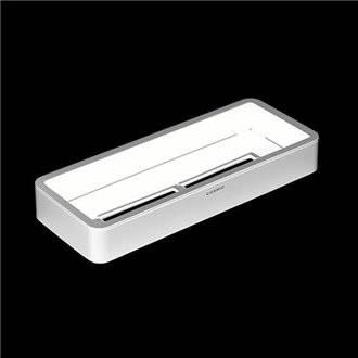 Tablette porte-savon blanc COSMIC