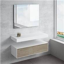 Plan de travail pour salle de bains BALAVU...
