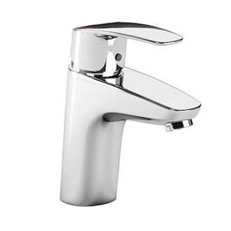 Robinet de lavabo avec corps lisse Monodin-N Roca