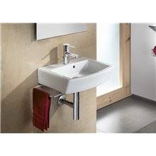 Lavabo mural edelweiss Hall 65 x 49,5 cm Roca