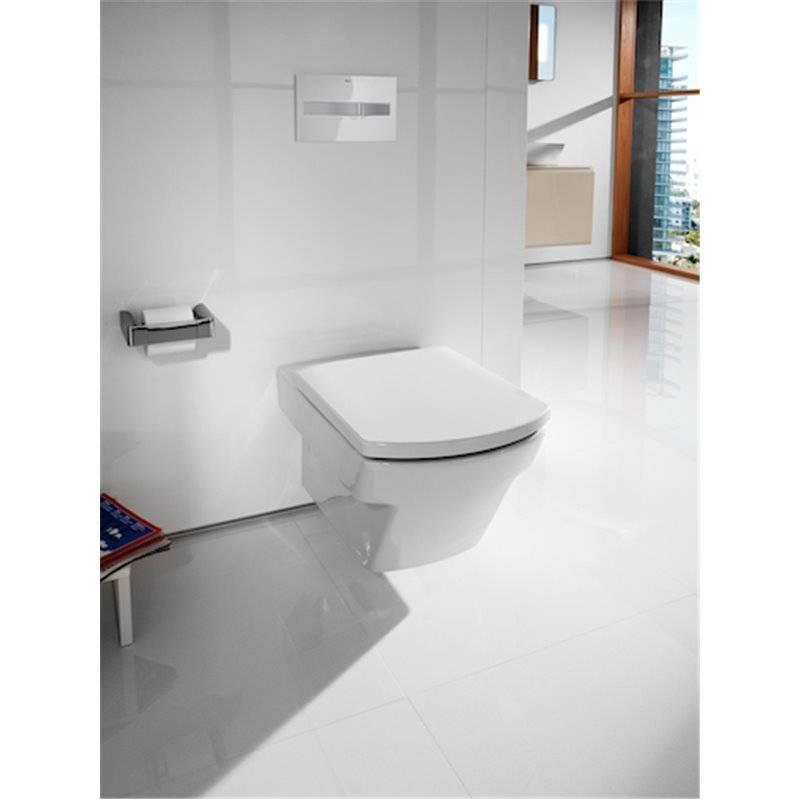 wc compact suspendu edelweiss hall roca a346627910 habitium. Black Bedroom Furniture Sets. Home Design Ideas