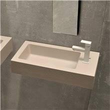 Plan vasque latéral sur mesure ATENEA MINI Resigres