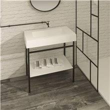 Meuble de salle de bains avec plan vasque BARI Resigres