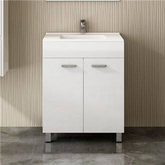 Meuble blanc brillant ECO TEGLER