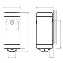 Chauffe-eau vertical 50 litres SLIM TEGLER