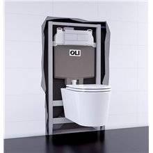 Réservoir encastré autoportant électronique OLI74 PLUS Sanitarblock