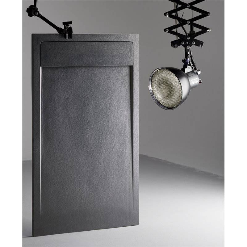 receveur de douche texture pierre canto habitium. Black Bedroom Furniture Sets. Home Design Ideas