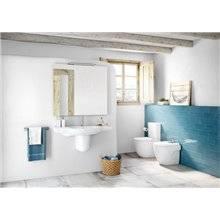WC haut confort réservoir bas Meridian Roca